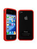 Príslušenstvo k Mobilným telefónom Ochranný kryt Bumper pre iPhone 4 (červený)