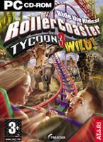 Hra pre PC Rollercoaster Tycoon 3: Wild! - datadisk