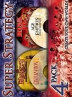 Hra pre PC Super Strategy 4 Pack