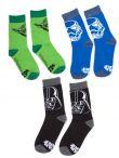 Ponožky Star Wars - Sada 3 ks dětských ponožek (vel. 31/34)