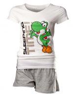 oblečení pro hráče Pyžamo - Yoshi (dámské, velikost L)