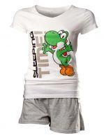 oblečení pro hráče Pyžamo - Yoshi (dámské, velikost M)