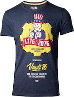 Herné tričko Tričko Fallout 76 - Vault 76 Poster (veľkosť XL)