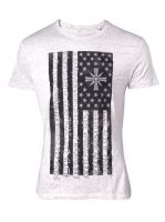 oblečení pro hráče Tričko Far Cry 5 - One Nation Under God (velikost L)