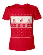 oblečení pro hráče Tričko Mario - Vánoce (velikost L)