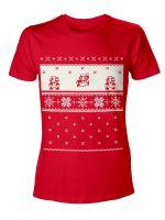 oblečení pro hráče Tričko Mario Vánoce (vel. S)