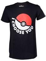 oblečení pro hráče Tričko Pokémon - I Choose You XS
