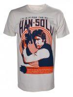 Tričko Star Wars - Han Solo Vintage Rock Poster