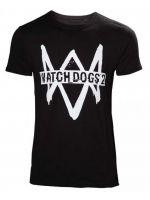 oblečení pro hráče Tričko Watch Dogs 2 (velikost S)
