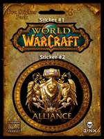samolepky World of Warcraft (Alliance)