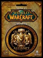 samolepky World of Warcraft (Alliance)