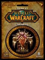 Samolepka World of Warcraft (Horda)