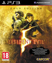 Hra pre Playstation 3 Resident Evil 5 Gold