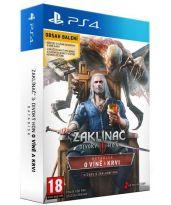 hra pre Playstation 4 Zaklínač III: Divoký hon - O Víně a Krvi