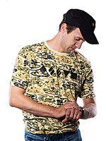 oblečení pro hráče Tričko World of Tanks - Camo (velikost L)