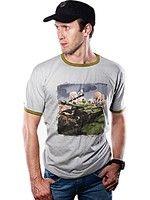 oblečení pro hráče Tričko World of Tanks - Comics Tank (velikost XL)