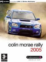 Hra pre PC Colin McRae Rally 2005 CZ