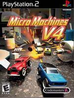 Hra pre Playstation 2 Micro Machines V4