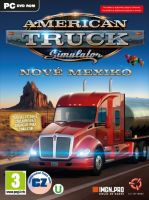 American Truck Simulátor: Nové Mexiko (datadisk) (PC) + Samolepka