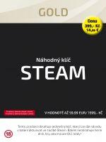 Hra pre PC N�hodn� k��� Steam Gold