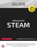Hra pre PC N�hodn� k��� Steam Silver