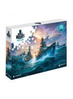 Puzzle World of Warships - Nemecké bojové lode (STHRY)