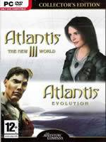 Hra pre PC Atlantis Collectors Edition (3+4)