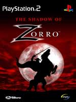 Hra pre Playstation 2 The Shadow of Zorro