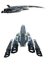 Hra pro PC Model lodi Mass Effect 3 - Alliance Normandy SR-2 (poškozená krabička)