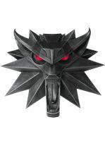 Hračka Nástěnný medailon Zaklínač - Vlk (Limitovaná svítící edice)