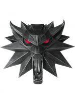 Hračka Nástěnný medailon Zaklínač - Vlk (Limitovaná svítící edice) (poškozená krabice)