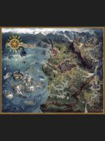 Stolová hra Puzzle Zaklínač - Mapa severných kráľovstiev