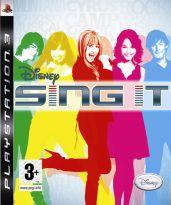 Hra pre Playstation 3 Disney Sing It