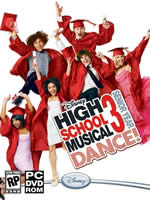 Hra pre PC High School Musical 3: Senior year DANCE! CZ