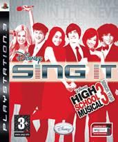 Hra pre Playstation 3 Disney Sing It: High School Musical 3