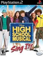 Hra pre Playstation 2 High School Musical: Sing It! + mikrofóny