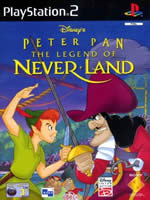 Hra pre Playstation 2 Peter Pan Legend of Neverland