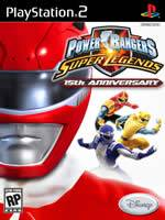 Hra pre Playstation 2 Power Rangers: Super Legends