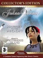 Hra pre PC Jules Verne: Cesta na Mesiac + Tajuplný ostrov
