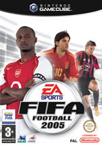 Hra pre GameCube FIFA 2005
