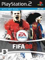 Hra pre Playstation 2 FIFA 08 CZ