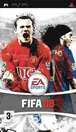 Hra pre PSP FIFA 08