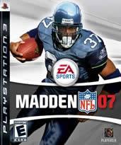 Hra pre Playstation 3 Madden NFL 07