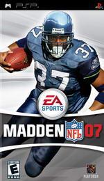 Hra pre PSP Madden NFL 07