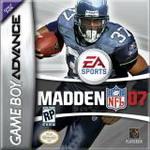 Hra pre Gameboy Advance Madden NFL 07