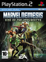 Hra pre Playstation 2 Marvel Nemesis: Rise of the Imperfects