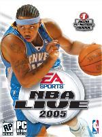 Hra pre PC NBA Live 2005