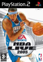 Hra pre Playstation 2 NBA Live 2005