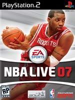 Hra pre Playstation 2 NBA Live 07