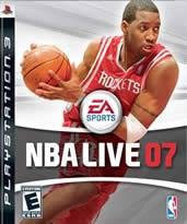 Hra pre Playstation 3 NBA Live 07